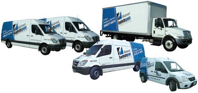 Services vans and box trucks